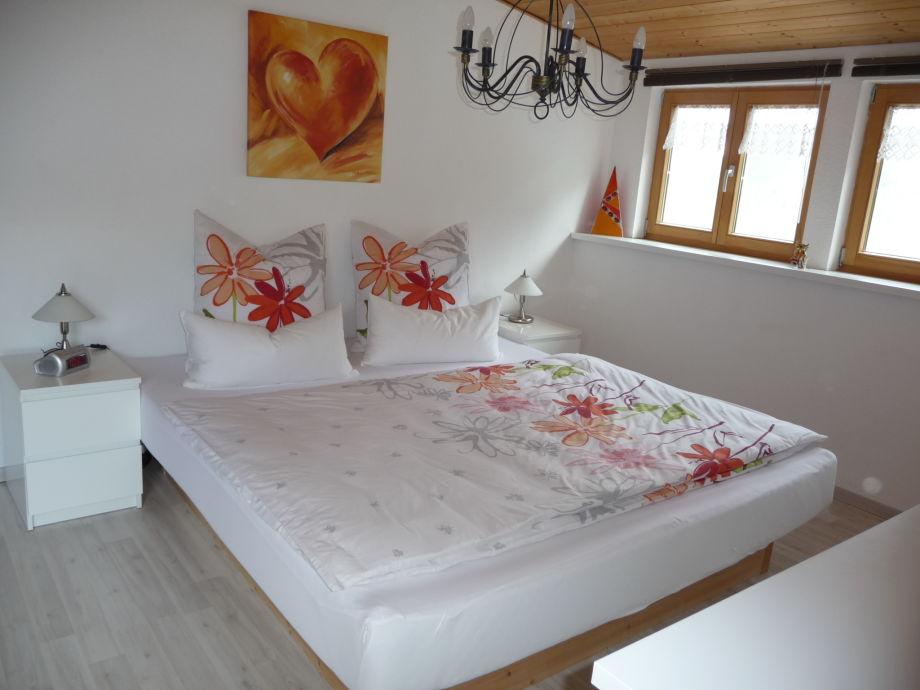 Ferienwohnung SternenblickAllgäu Bayern Allgäu Oberallgäu - Schlafzimmer mit wasserbett