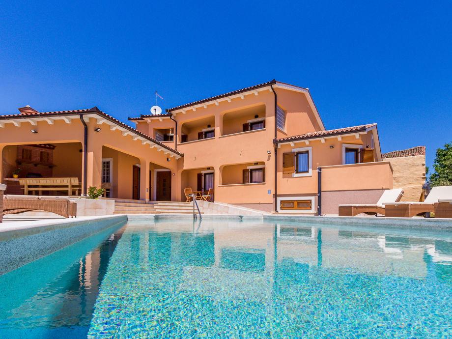 Kroatien Villa mit Pool