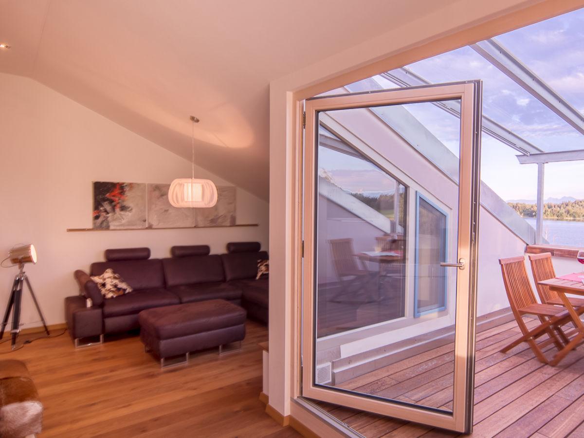 ferienwohnung loft 7 im ferienhaus lebensart am see bad endorf frau theresia pertl. Black Bedroom Furniture Sets. Home Design Ideas