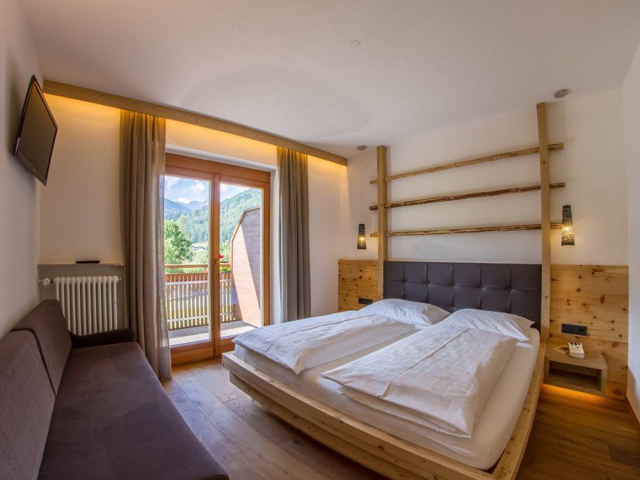 """Schlafzimmer im Apartment """"PINUS"""""""