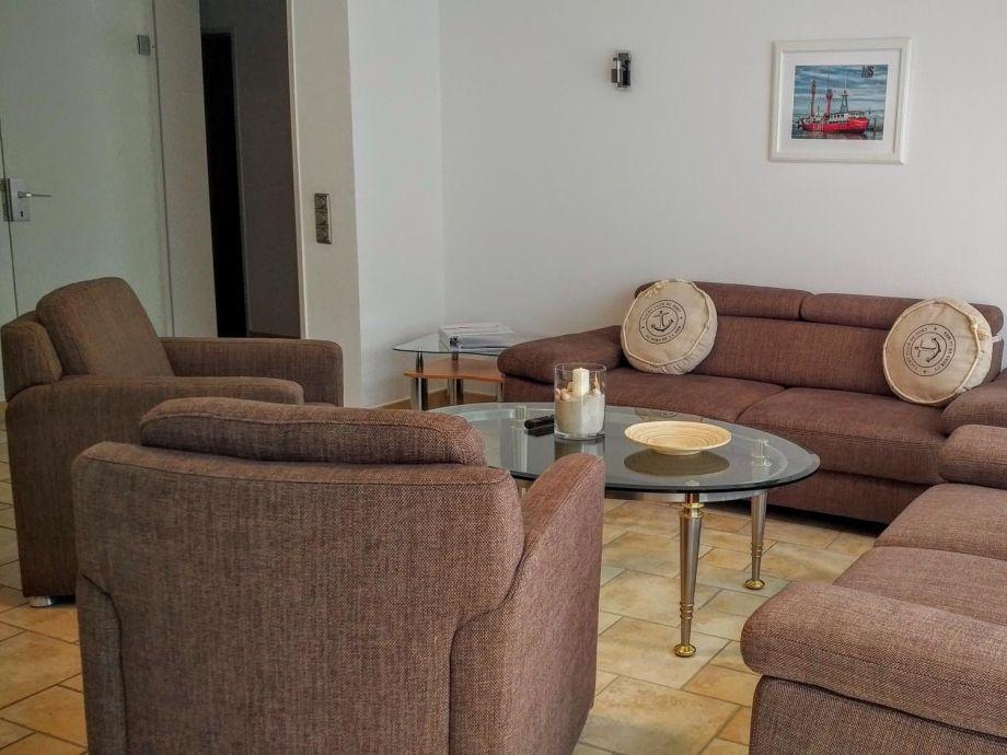 Nige Wark Ferienappartements Whg 19, Duhnen, Wohnzimmer