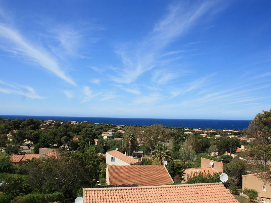 Lage und Blick Ferienwohnung Sant Ambroggio