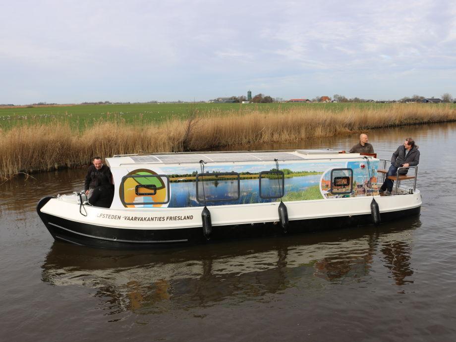 Elektrische Hausboot Hindeloopen