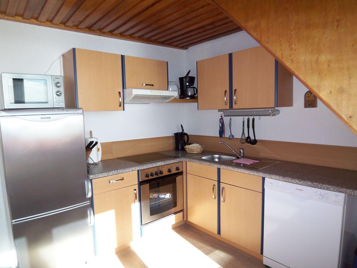 Ferienwohnung panoramadeck im haus alte bootswerft ostsee for Komplette küche