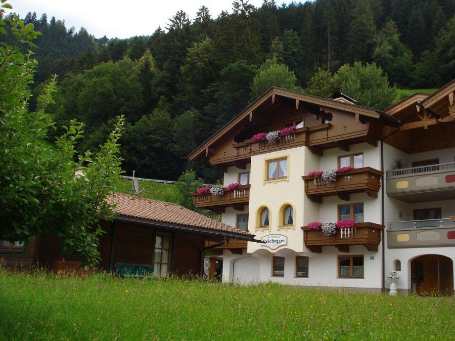 Haus Reichegger im Sommer