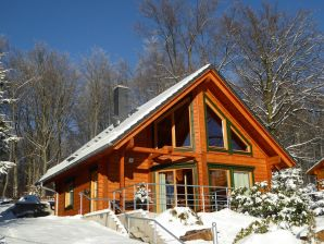"""Holiday house The """"Am Infang"""" log cabin."""