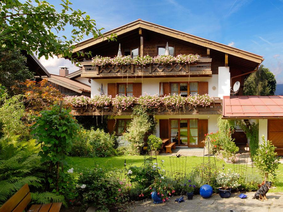 Das Gästehaus Anja im Sommer