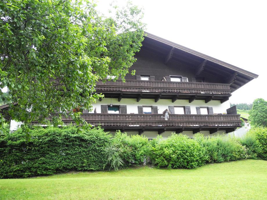 Außenaufnahme Designapartment Kitzbühel II