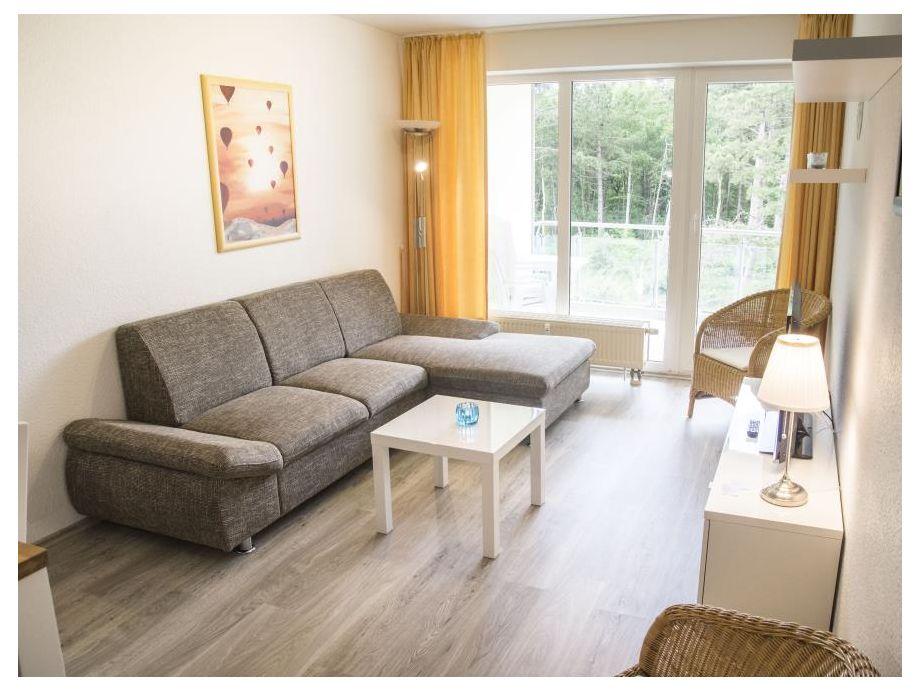 helle Ferienwohnung mit Schlafcouch in Sahlenburg