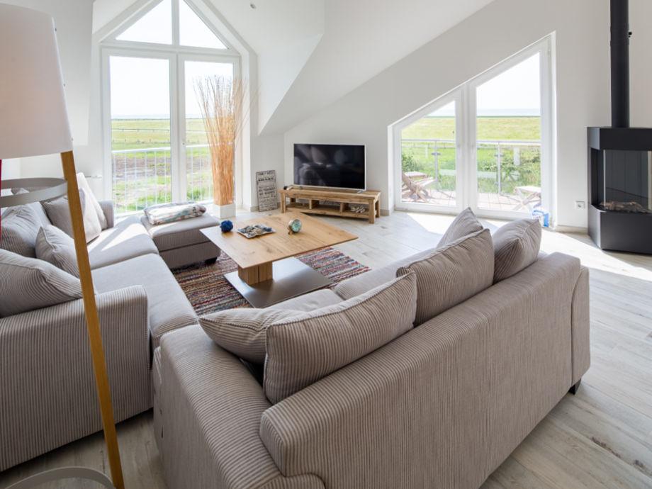 Ferienwohnung tante ju nordseeinsel juist firma iwona jentsch ferienimmobilienvermietung e - Sitzecke wohnzimmer ...