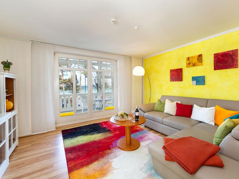 """Apartment """"Seerosen"""" in der Villa Seestern"""