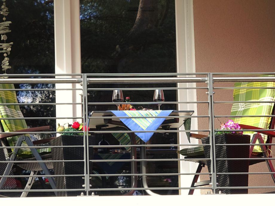 Unser schöner Balkon