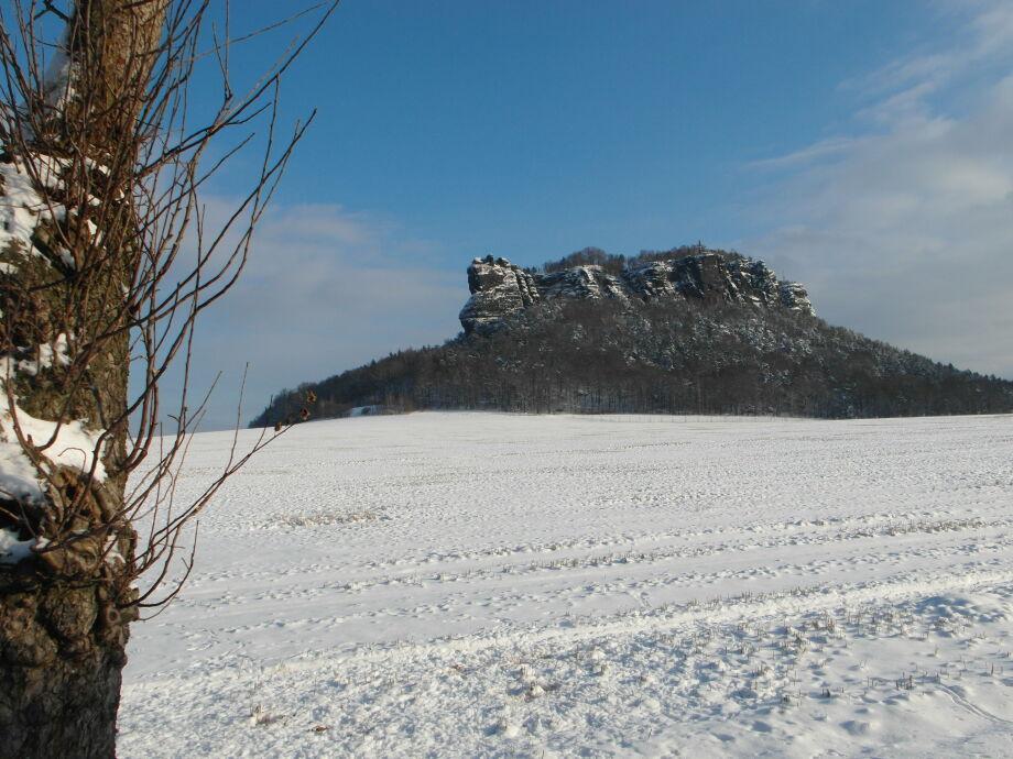 Winter auf der Ebenheit
