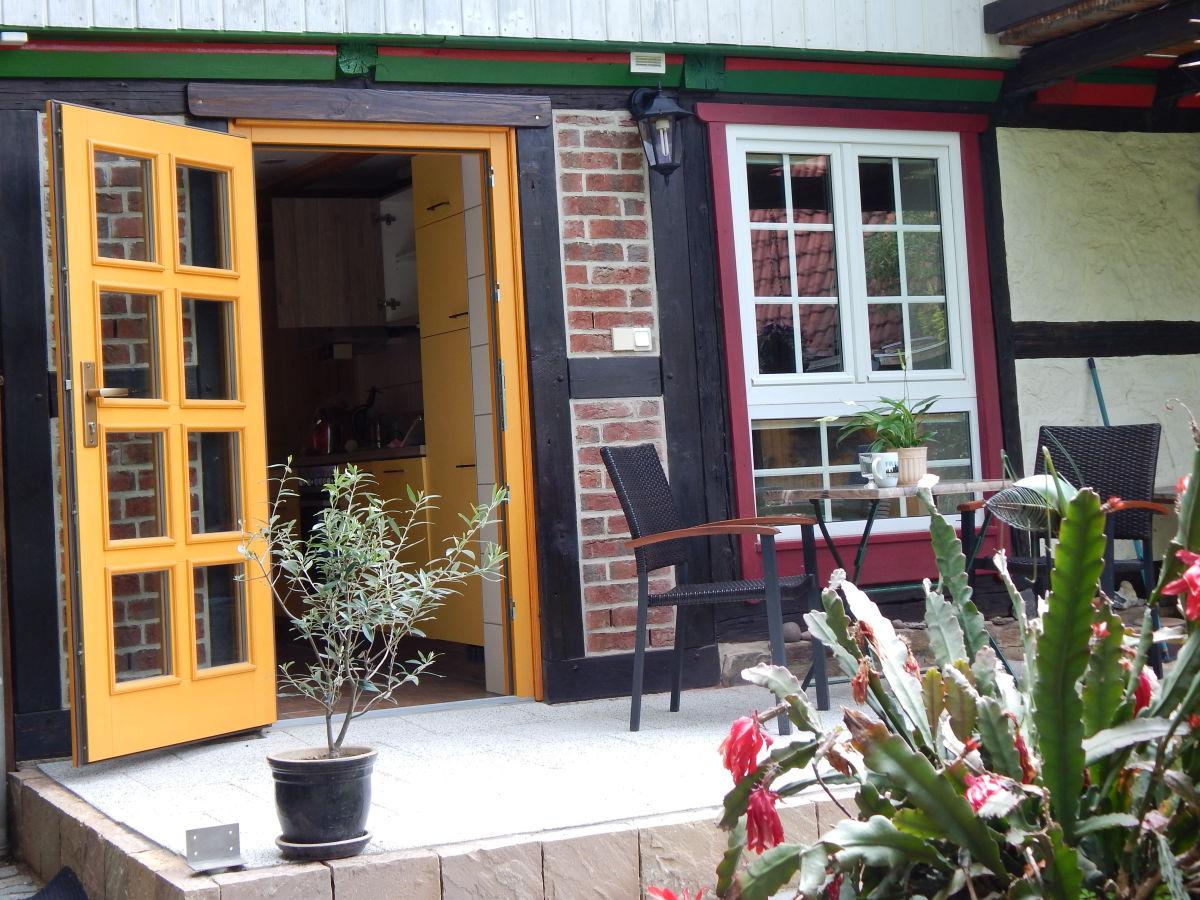 Verschiedene Gartentraum Referenz Von Terrasse Mit Blick In Die Küche