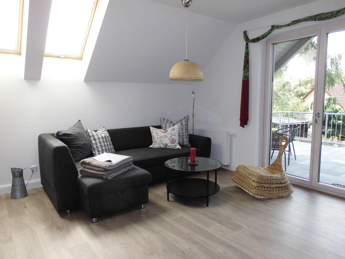 Ferienhaus emma wohnung sonnentau m rkisch oderland for Sitzecke wohnzimmer