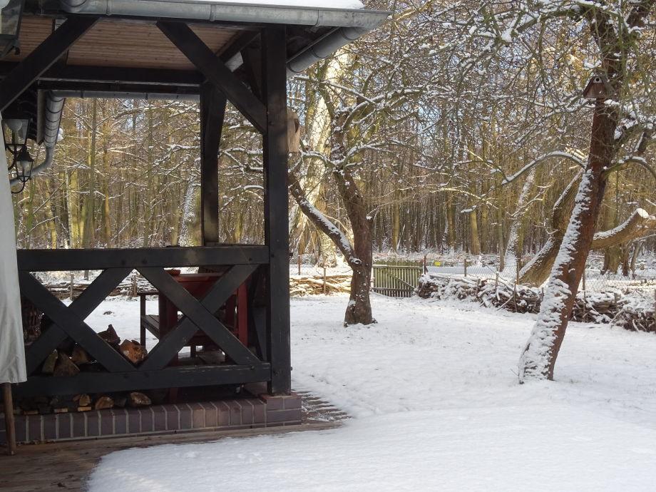 """Ferienhaus """"Maximilian"""" im Winter"""