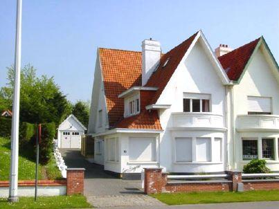 in der Villa Les Bruyères
