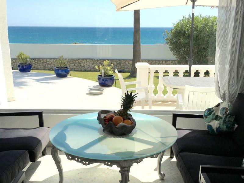 villa overlooking the Atlantic ocean