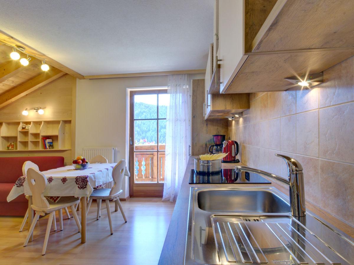Ferienwohnung mesamunt am porta kaiser hof dolomiten for Küche porta