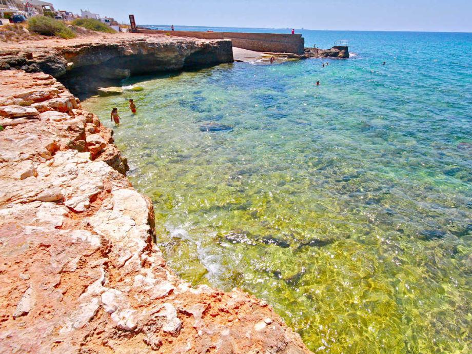 Eindrucksvolle Küste von Sa Ràpita