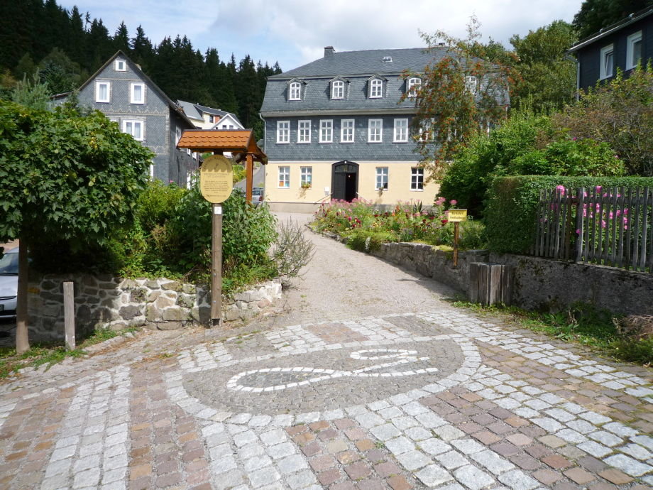 Goethemuseum , Ferienwohnung in der oberen Etage