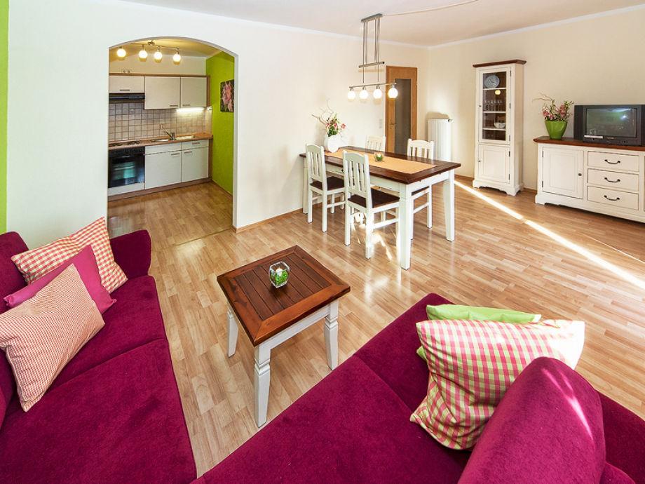 Wohnzimmer-/Küche Wildrose