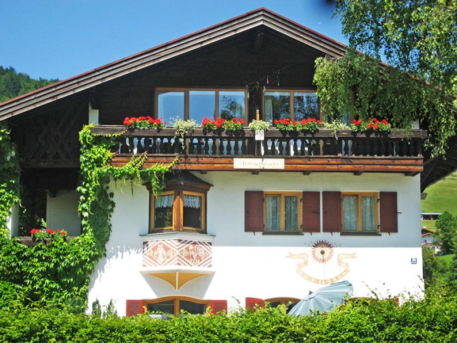 Haus Achental im Sommer
