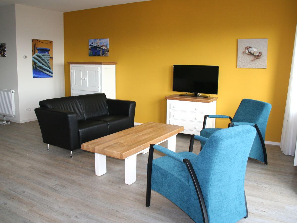 Apartment wapen van breskens 305 zeeland breskens firma verhuurburo nieuwvliet herr - Fernseher wohnzimmer ...