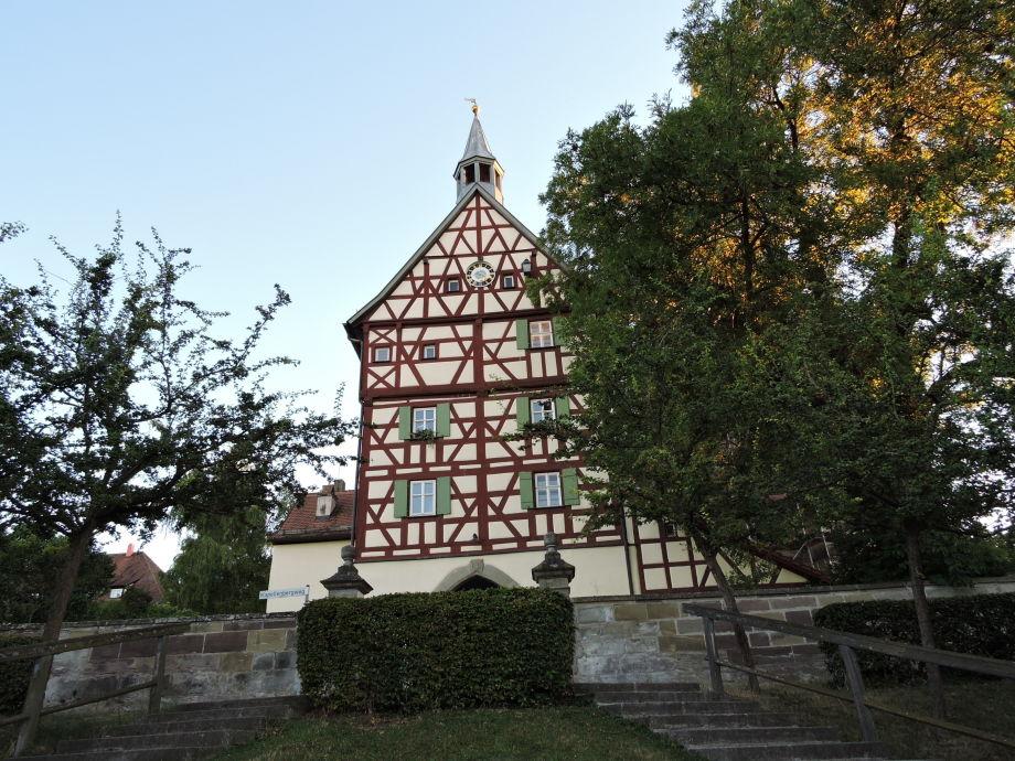 Baudenkmal Torturm, das Wahrzeichen Burgbernheims!