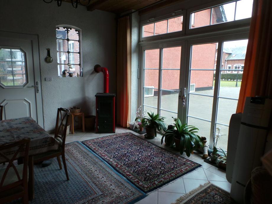 beautiful wohnzimmer grose fensterfront pictures - ideas & design ... - Grose Moderne Wohnzimmer