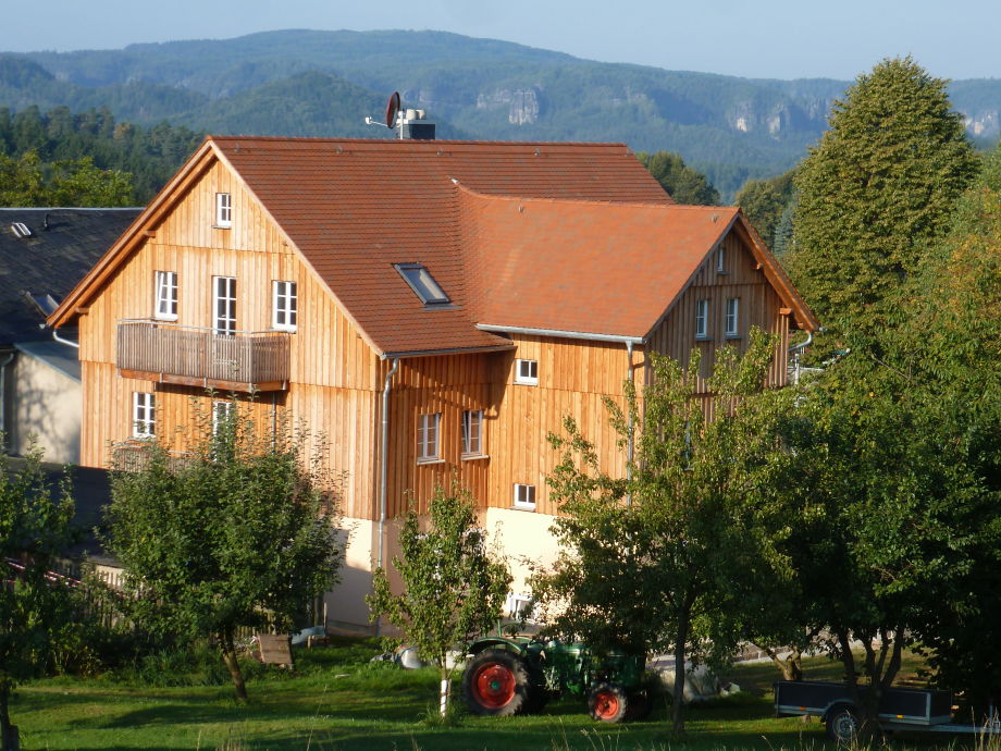 Ferienhaus Ostseite mit Panoramablick