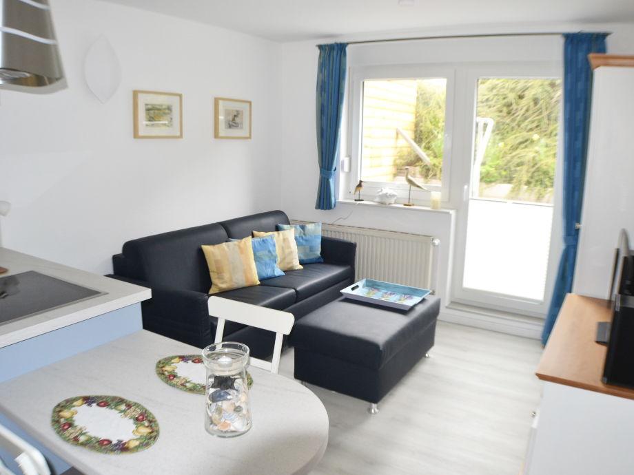 Wohnzimmer mit Kochinsel