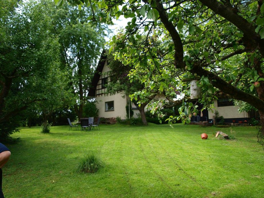 Gepflegter Garten / Blick auf die Nordseite des Hauses