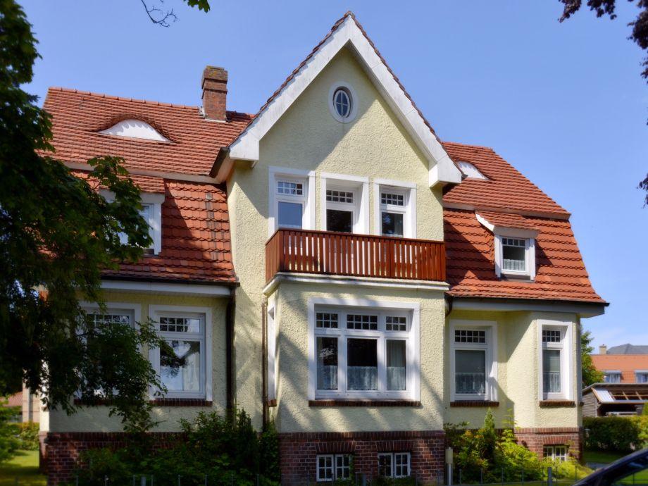 """Die """"Villa an der Mühle"""", erbaut 1911"""