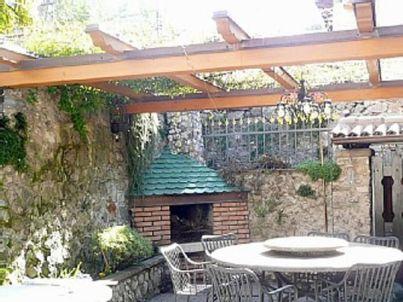 Garden - Apartment mit Terrasse und offenem Kamin