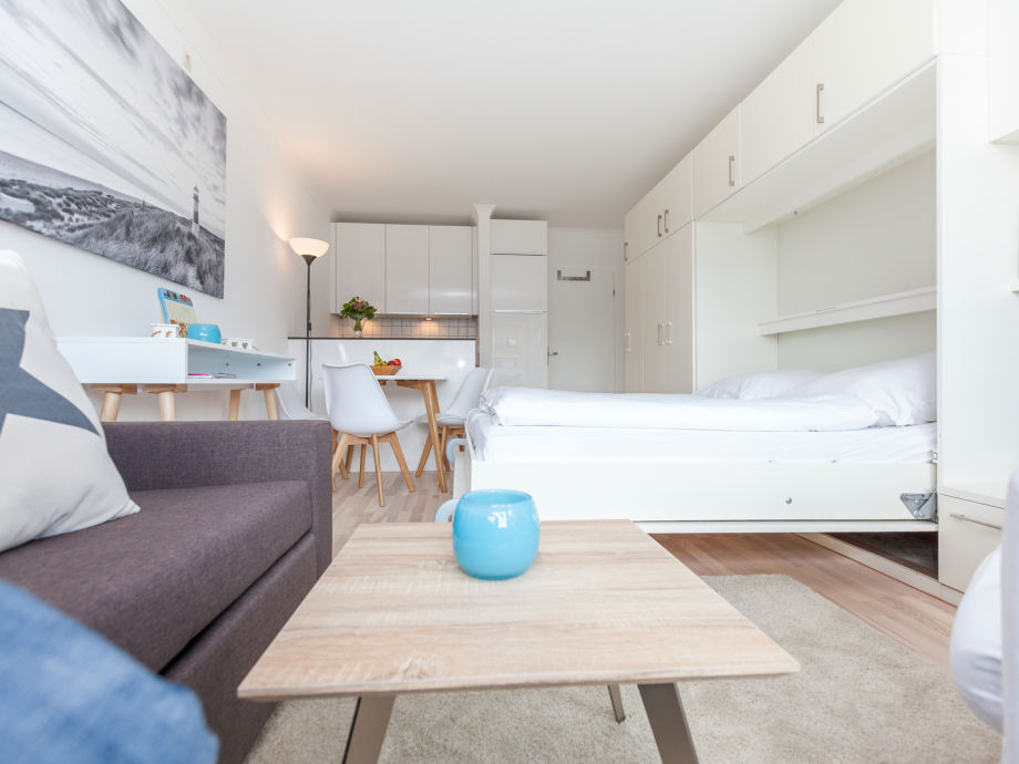 Ihr gemütlicher Wohnbereich mit Doppel-Schrankbett