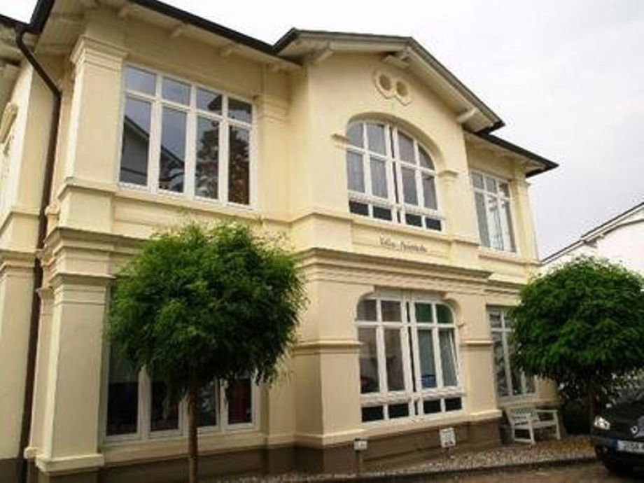 Außenansicht Villa Heimkehr