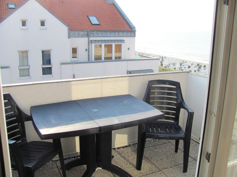Balkon vom Wohn-/Essbereich aus
