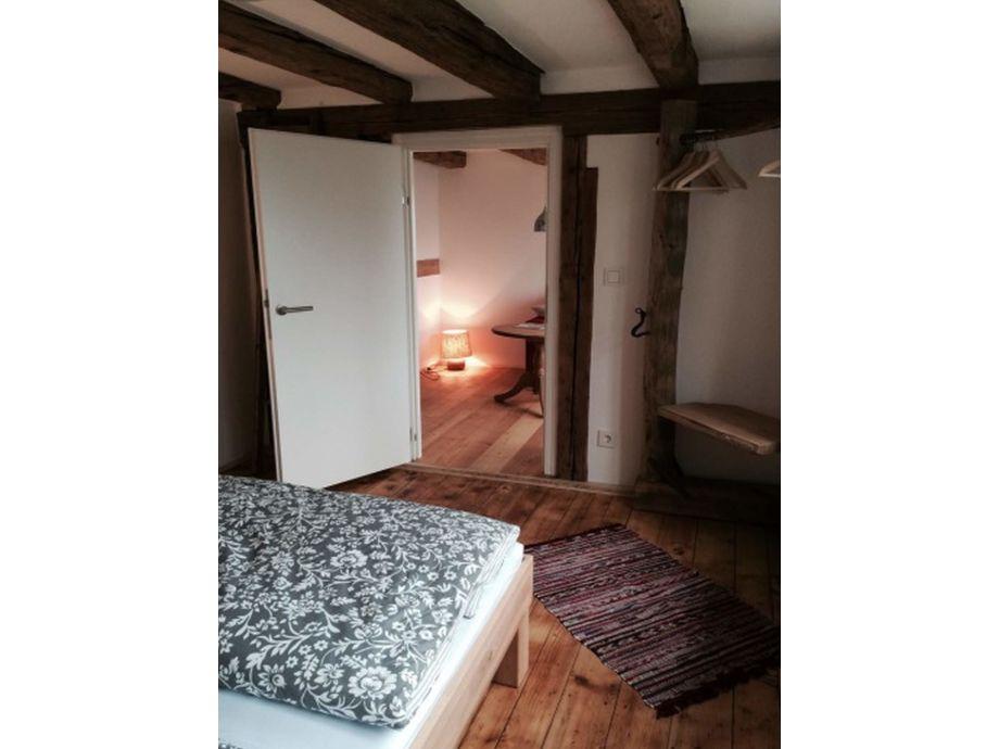 Blick Von Schlafzimmer In Stube