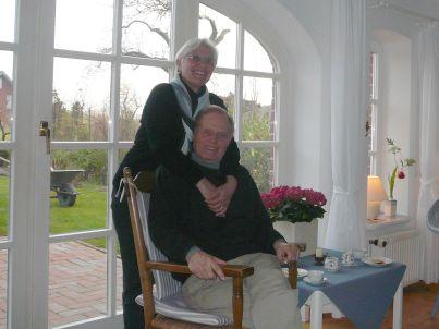 Ihr Gastgeber Ute und Dr. Werner Techtmann