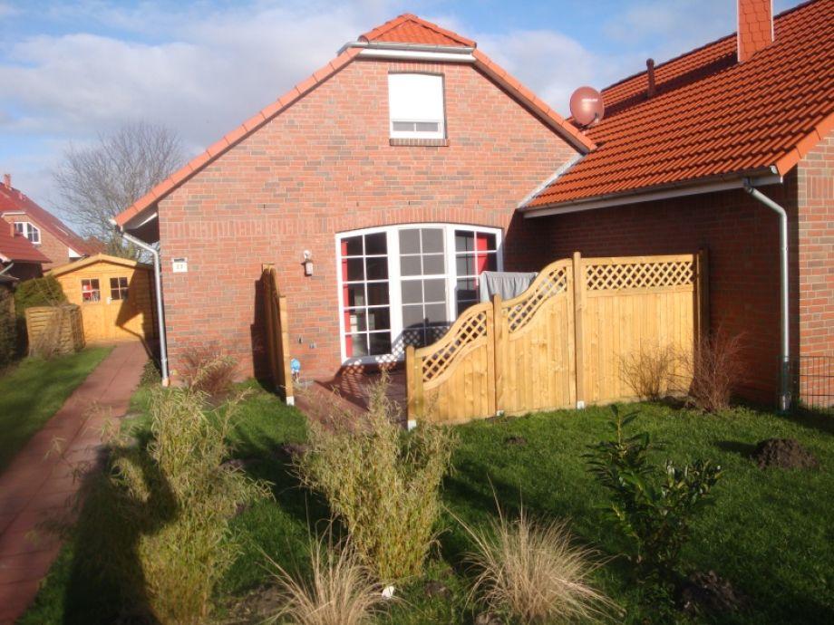 Terrasse mit Abtrennung