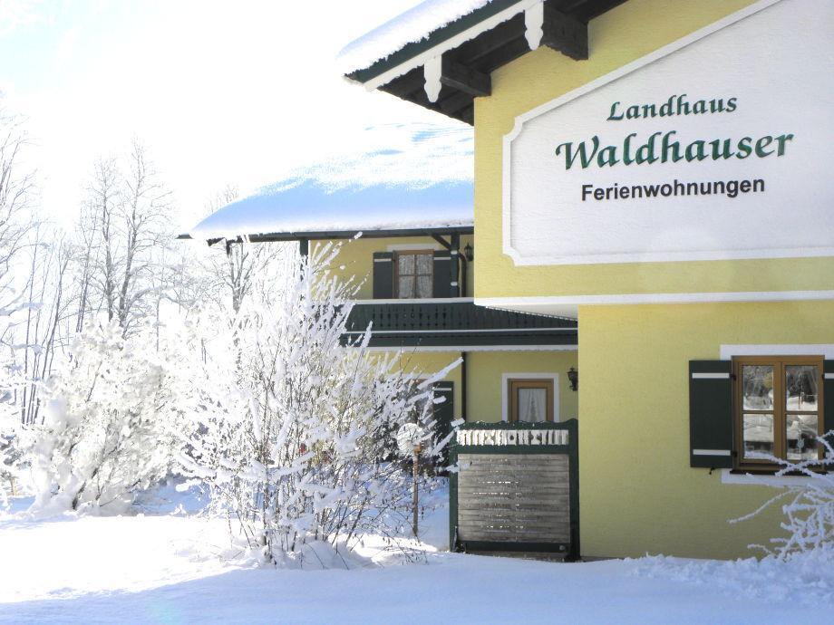 Landhaus Waldhauser im Winter