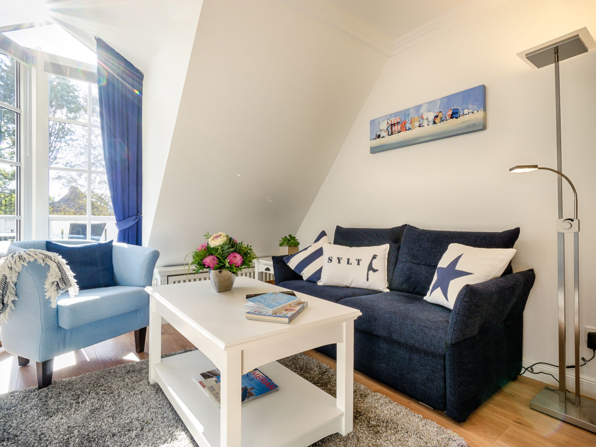 ferienwohnung 2 zi fewo relax lounge westerland auf. Black Bedroom Furniture Sets. Home Design Ideas