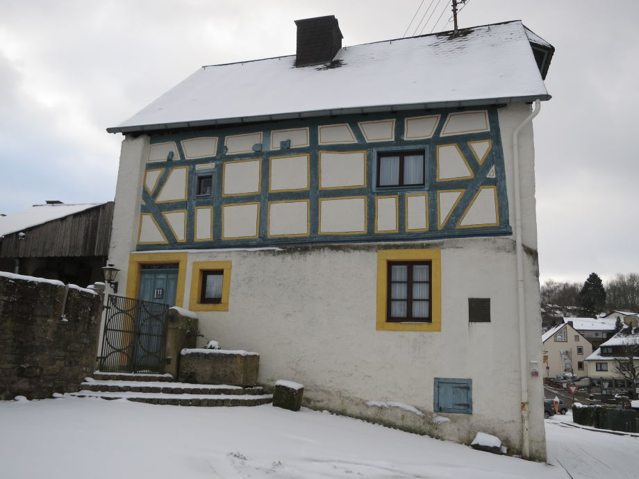 Haus Hinneres im Winter