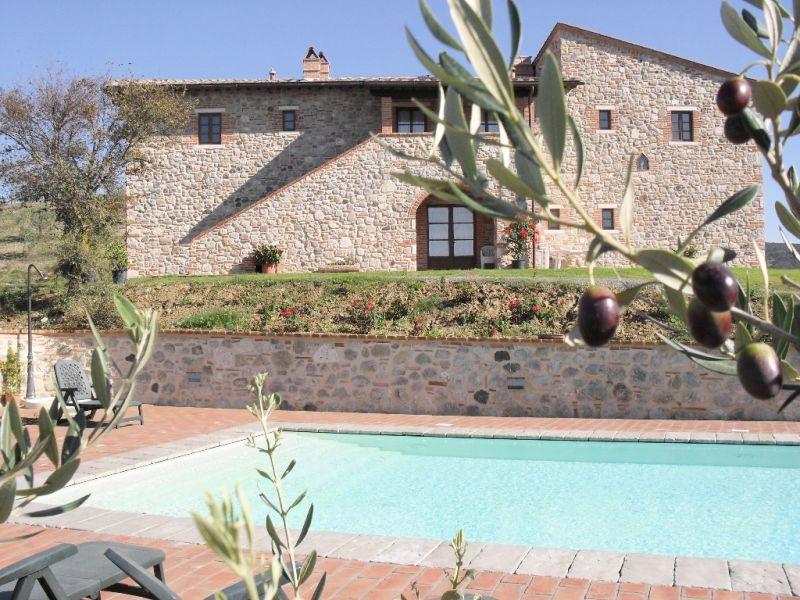 Ferienwohnung Podere Campaini - 2-Zimmer-Wohnung mit Pool