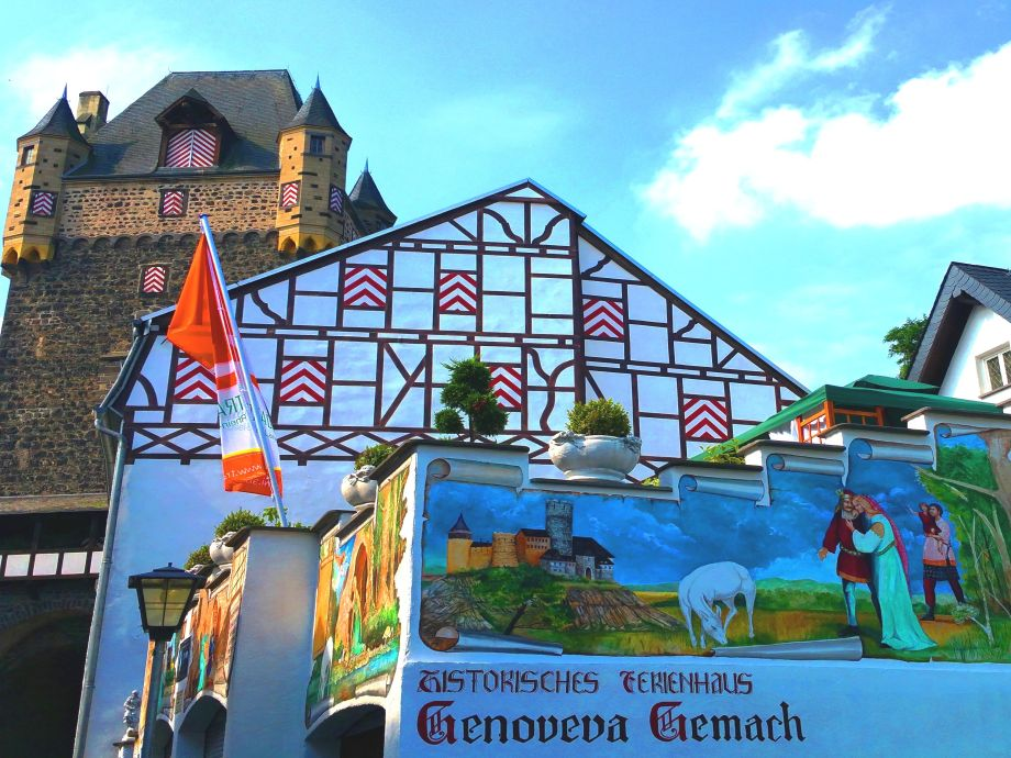 Historisches Ferienhaus Genoveva Gemach +Obertor-(Turm)