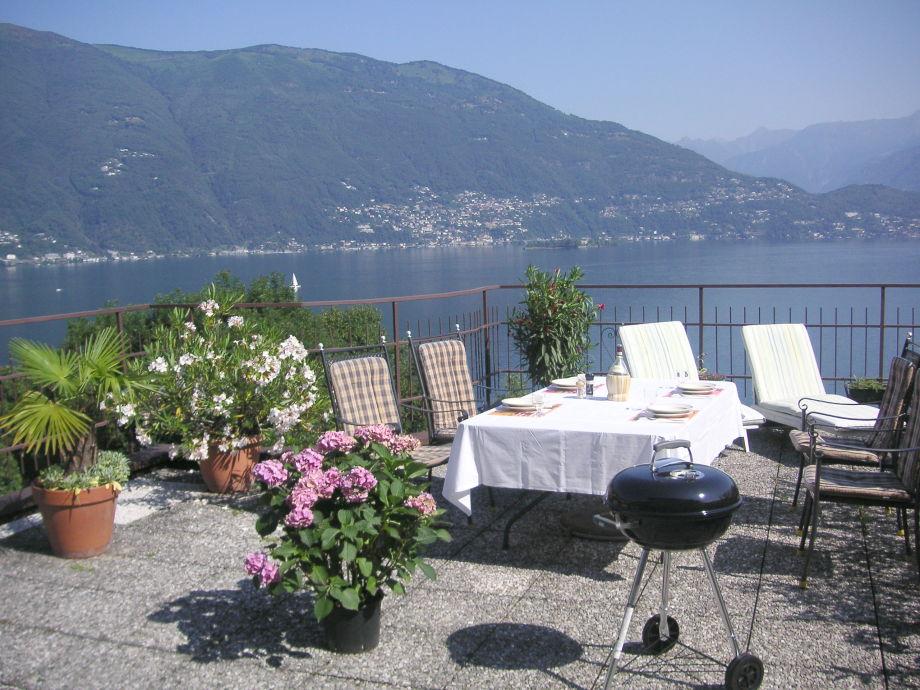 Ferienwohnung MiraLago Lago Maggiore Familie Gantenbein