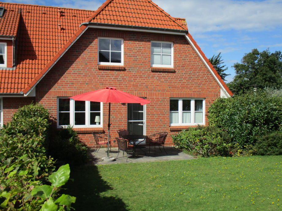 Terrasse - Blick aus dem Garten
