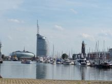 Ferienwohnung Neuer Hafen mit Weserblick