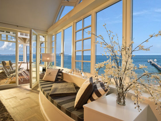 ferienwohnung penthouse im strandschloss sea for miles r gen binz frau ingrid siller bauer. Black Bedroom Furniture Sets. Home Design Ideas